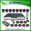 8CH DVR Surveillance Dome Camera Kit System (-9608H8ID)