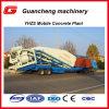25m3/H移動式セメントの販売のための具体的な混合プラント価格