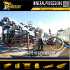 Processamento de minerais metálicos Máquina de separação de beneficiamento Separador de rolo magnético