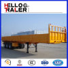 Tri-Axle Bulk Truck Trailer 50t Loading Container Semi Trailer