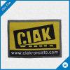Escritura de la etiqueta tejida marca de fábrica de encargo de la alta calidad para el equipaje/la ropa