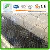 塗られるガラス酸の装飾的なガラスか汚れGlass/5mm