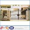 Puertas de seguridad residenciales elegantes del hierro labrado