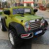 Véhicule électrique de gosses de grande taille de jeep avec le véhicule de jouet du bébé SUV d'éclairage LED