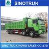 Camion à benne basculante de Sinotruk HOWO 8X4 vers l'Afrique