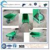 オーストラリア(Wb6414-1)のための高品質のPlastic Trayの庭Wheelbarrow