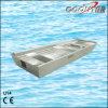 tipo parte inferior lisa da espessura U de 2.0mm do barco de alumínio