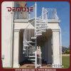 屋外の金属の螺旋階段(DMS-H1006)