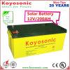 Batterie solaire d'acide de plomb profonde du cycle VRLA de gel fiable de la qualité 12V200ah
