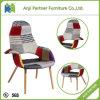 Moderner vier Bein-weicher Entwurfs-Gewebe-Sofa-Aufenthaltsraum-Stuhl (Bison)