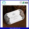 Cartão personalizado convites do metal da decoração do casamento