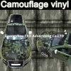 Película del vinilo del coche del camuflaje, vinilo auto de la etiqueta engomada del coche de Camo