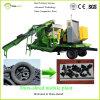 Dura寸断しなさい機械(移動式プラント)をリサイクルする連続的なタイヤを