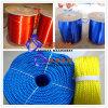 Cadena de producción plástica de la cuerda de la maquinaria plástica de la cuerda