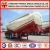 De poudre de cargaison de transport de camion-citerne remorque semi