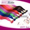 融合のHair ExtensionsイタリアのKeratin Fusion Nail U TIP Ombre Two Tone Dye Hair ExtensionインドのRemy Human Straight 0.5g/S 50g
