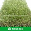 Естественная зеленая искусственная лужайка с высокой стабилностью