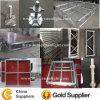 Этап Shinestage алюминиевого сплава стеклянный (YS-1110-2)