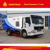 Les meilleurs camions de route de balayeuse de la Chine de Sinotruk 4kh1-Tc, camion de balayeuse