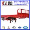 40 Tonnen-Flachbettschlußteil mit seitlicher Vorstand-Ladung-halb Schlussteil