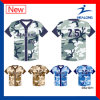 A camisa barata a mais atrasada do uniforme de Jersey do basebol do Sublimation