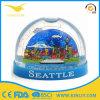 Globo de vidro da neve da resina da alta qualidade para a lembrança Tourist da paisagem