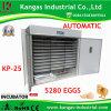 Prix concurrentiel plaçant la vente chaude d'incubateur d'oeufs de 5280 oeufs (KP-25)