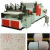 buena calidad y alta velocidad de toalla de cocina completa automático de rebobinado y perforación y máquina de laminación