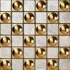 Mosaico de cristal de oro (VMW3501)