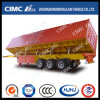 3axle Cimc Huajun Multifunctional 밴 Type Side Dumping Semi Trailer