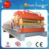 Double couche en acier de produits de construction faisant la machine