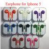 Earpods brandnew, trasduttore auricolare, cuffia con la ripresa esterna & Mic per il iPhone di Apple 5 5g in regalo della scatola