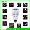 Luz de bulbo de Ratating do projetor do diodo emissor de luz para decorações do partido de feriado da parede do jardim