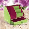 Caixa de armazenamento decorativa do suporte do ficheiro em papel do tamanho A4