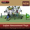 Crianças da segurança e do exercício que escalam o equipamento para o jardim de infância (P1201-8)