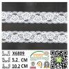 Cordón elástico acodado venta al por mayor X6809 del Spandex