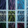 Upholstery Hw-752를 위한 얼룩말 Grain Glitter PU Leather
