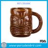 Tazza di ceramica di Tiki del caffè dalle 12 once Brown