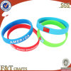 Promotional mince Energy Glow dans The Dark Cheap Custom Silicone Bracelet avec le laser Engraving