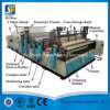 De Vervaardiging die van de fabriek het Broodje perforeren die van het Papieren zakdoekje van de Machines van het Toiletpapier Rewinder Opnieuw opwindend Machine scheuren
