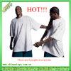 T-shirt surdimensionné de 2017 de vente de vente en gros de plaine Mens chauds de blanc