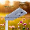 15W統合されたオールインワン太陽LEDの街灯の値段表