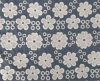 Baixo Price Embroidery Lace Fabric para Garment