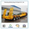 De hete Op zwaar werk berekende Semi Aanhangwagen van Lowbed van de Vrachtwagen Saling van Leverancier