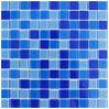 Mattonelle di mosaico di vetro di Crysal di cino acclamazione