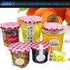 Embosseed Muster-Glasware-Stau-Glas für Nahrungsmittelspeicher (JH-2307)