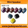 Mini altavoz del metal de múltiples funciones NSP-114