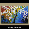 Textured Abstract Blossom Flower Oil Paintings (KLLA1-0062)