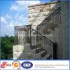 屋外階段錬鉄の柵