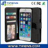 Lederner Fall mit Stand für iPhone 6 4.7 (Leather Black) (TF-027)